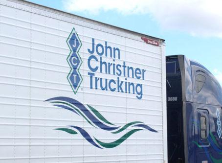 John Christner Trucking truck