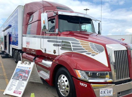 The Spirit of the American Trucker, OOIDA's tour trailer