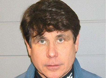 Mug shot of Rod Blagojevich.