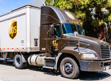 UPS trcuk