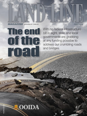June 2019 Land Line Magazine Cover The End Of The Road