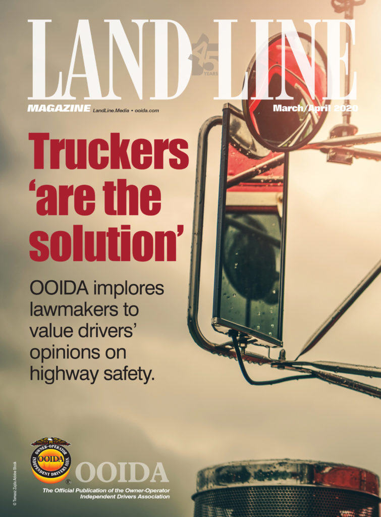 March-April 2020 Land Line Magazine cover