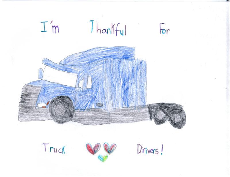 Poster by Aliyah Yon, 7, of Sarah, Miss.
