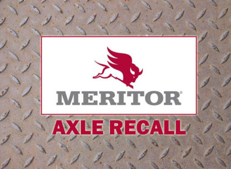 Meritor recalls nearly 2,000 steer axles for lubrication issues