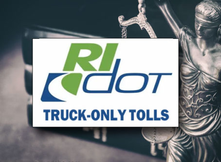 Rhode Island denied rehearing in truck-only toll lawsuit