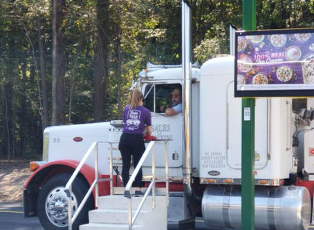 Sonic in Arkansas features drive-thru for big rigs