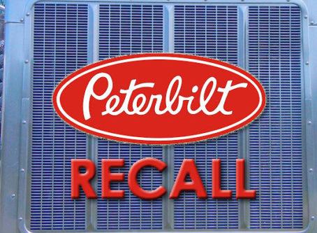 Peterbilt recall