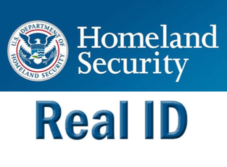 Homeland Security Real ID graphic