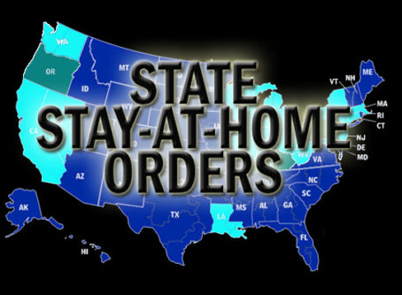 Stay-at-home orders issued in several more states