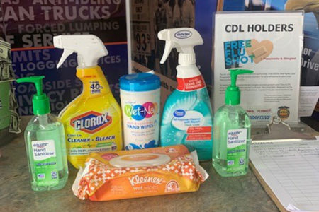 Smell the cleaning supplies? The Spirit stops in Jeffersonville, Ohio