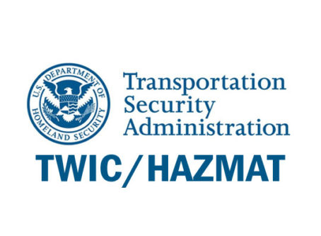 TSA-Hazmat endorsement, TWIC