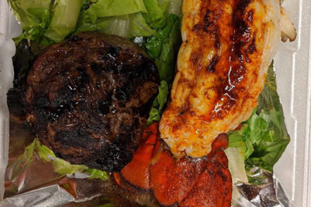 Good news: Surf and turf carryout from Rib & Chop House