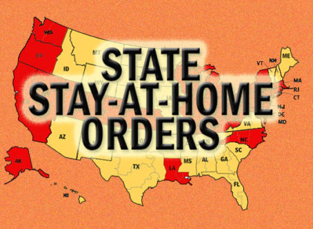 Total statewide stay-at-home orders now at 35