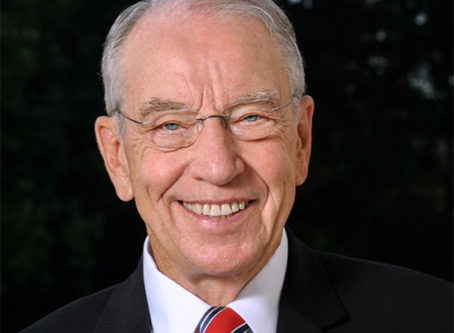 Sen. Chuck Grassley VMT Tax opposed