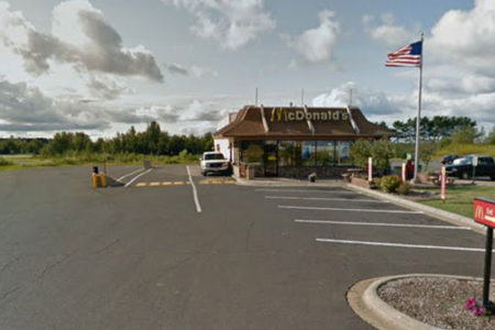 Chisholm, Minn., McDonald's, courtesy Google Maps