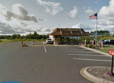 Chisholm, Minn., McDonald's, courtesy Google Maps
