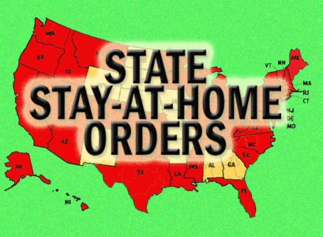 Texas added to list of state stay-at-home orders