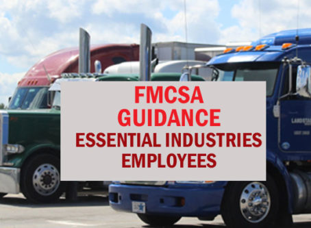 FMCSA issues COVID-19 guidance