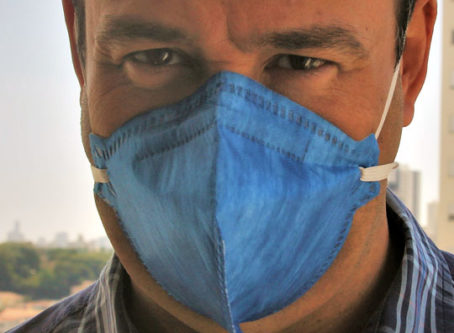 Laredo, Texas, requires masks or other covering of nose and mouth