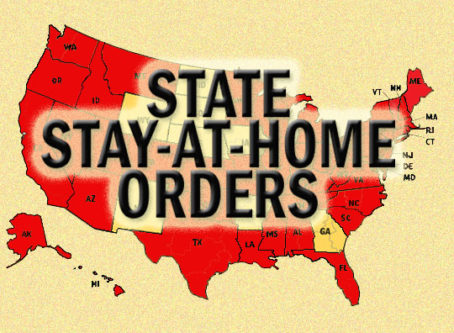 Stay-at-home orders