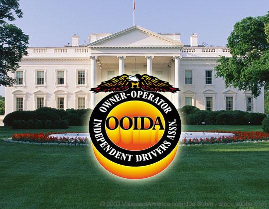 OOIDA logo, White House