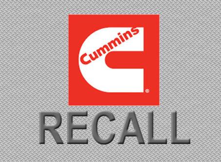 Cummins Recall