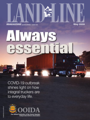 May 2020 Land Line Magazine Cover