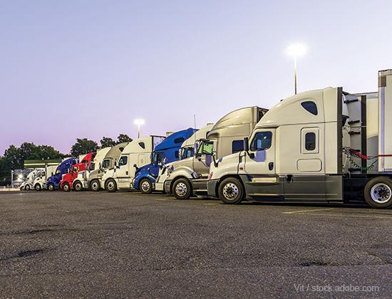 truck parking bill