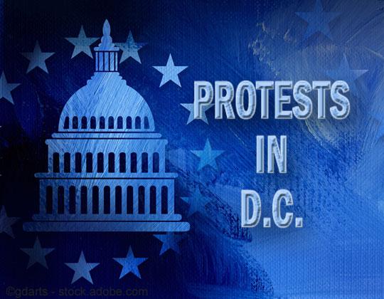 Trucker demonstrations trigger tweet from President Trump low rates trucker protest