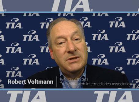 Robert Voltmann, TIA president,