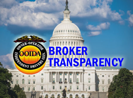 OOIDA clarifies broker transparency misinformation in message to Congress