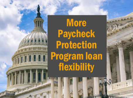 Paycheck Protection Program flexibility bill passes Senate
