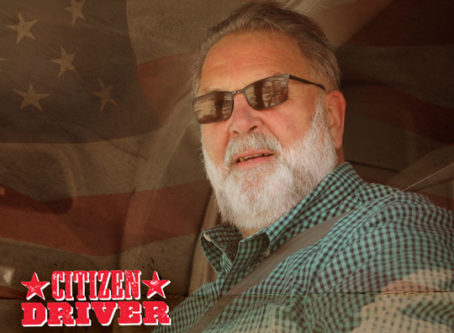"""Jerry """"Skimpy"""" Seaman, an OOIDA life member from Huron, S.D., is one of two 2020 TA & Petro Citizen Drivers. Citizen Driver"""