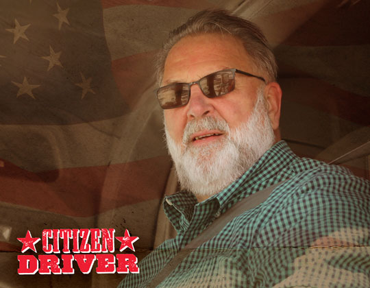 """Jerry """"Skimpy"""" Seaman, an OOIDA life member from Huron, S.D., is one of two 2020 TA & Petro Citizen Drivers."""