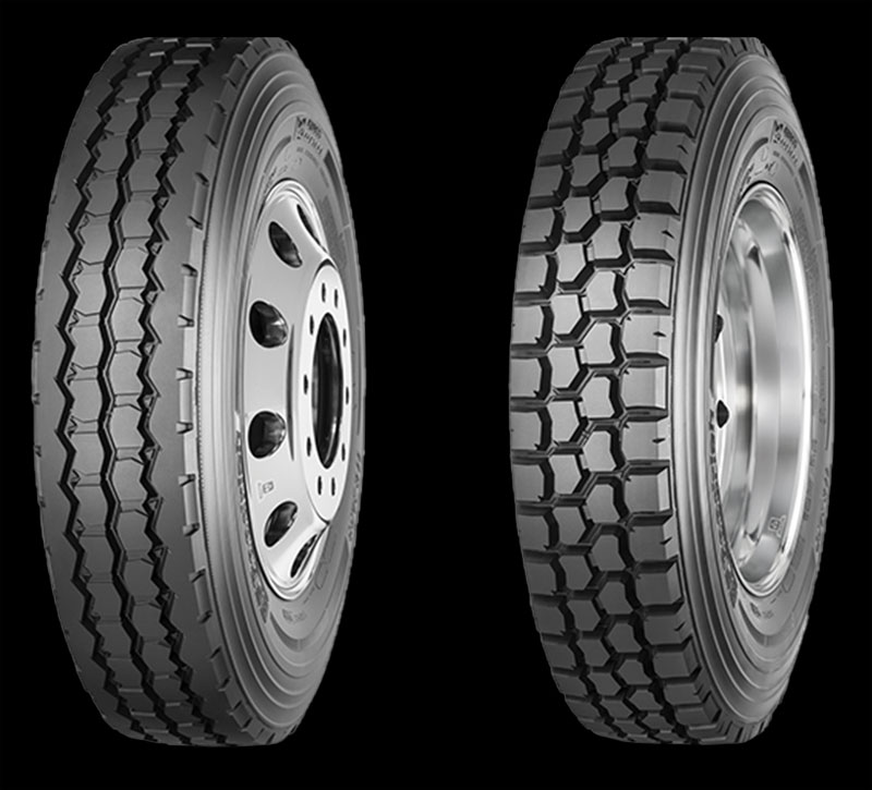 BFGoodrich Cross Control S (left) and Cross Dontrol D tires. (Photo courtesty BFGoodrich)