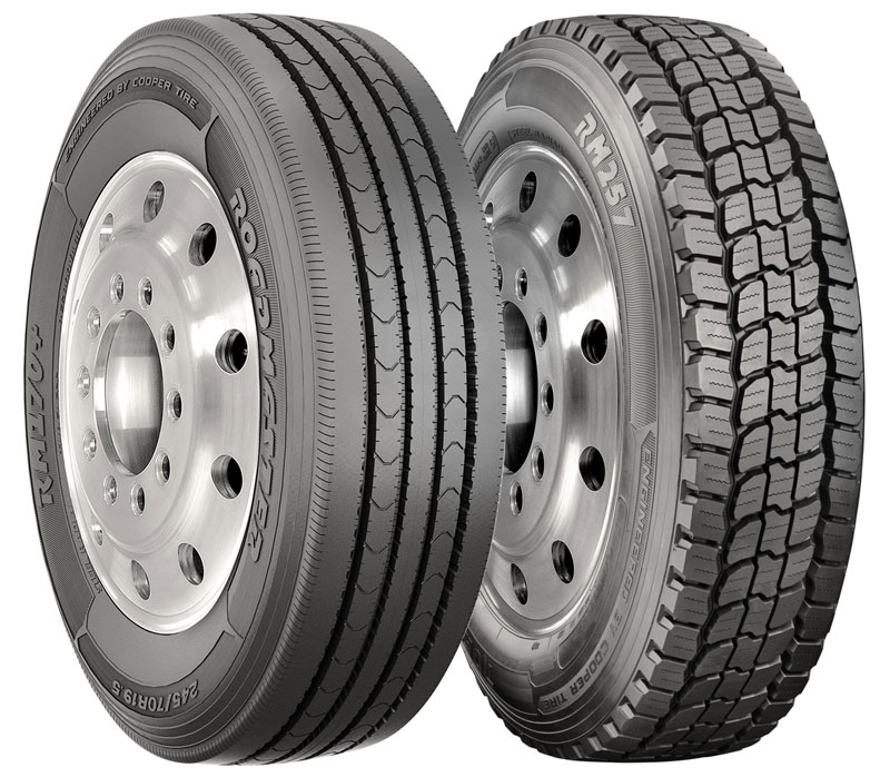 Roadmaster RM170+ and RM257 (Photo courtesy Cooper Tires)