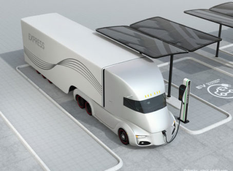 Electric and automated truck corridors