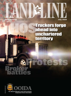July 2020 Land Line Magazine Cover