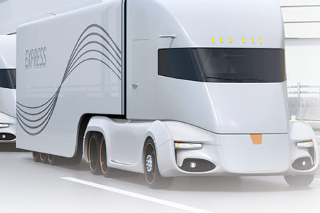 electric trucks, automated trucks