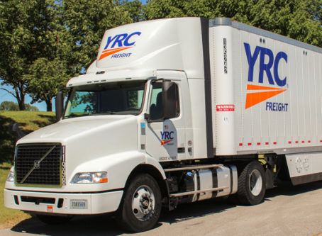 YRC Freight tractor-trailer