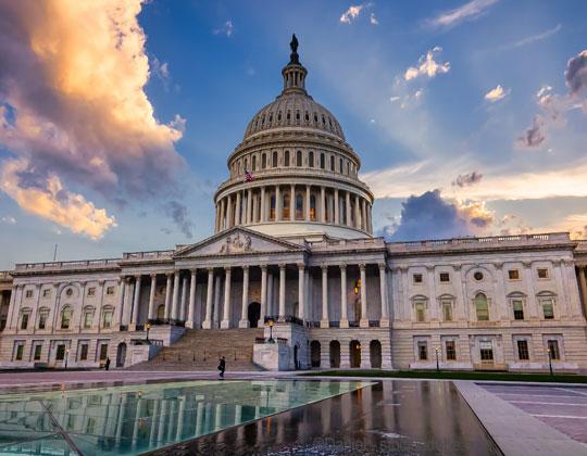 speed limiter U.S. Capitol in Washington, D.C.