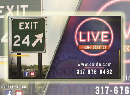 OOIDA to launch internet-based talk show, Live From Exit 24""