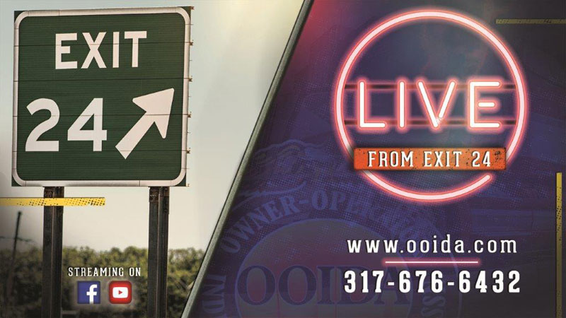 """OOIDA to launch internet-based talk show, Live From Exit 24"""""""
