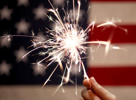 Sparkler, Fourth of July, Indepedence Day