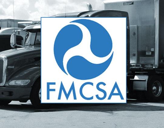 FMCSA logo authority FMCSA emergency orders