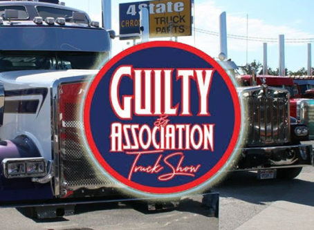 GBATS, Guilty By Association truck show logo