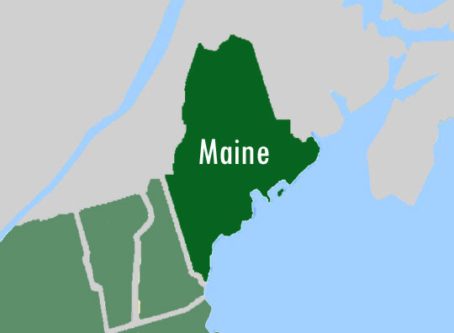 Main on US map