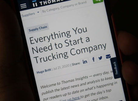 Everything You Need to Start a Trucking Company - Not much of an education here