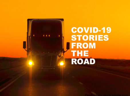 COVID-19 stories from the road