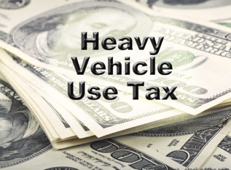 HVUT Heavy Vehicle Use Tax